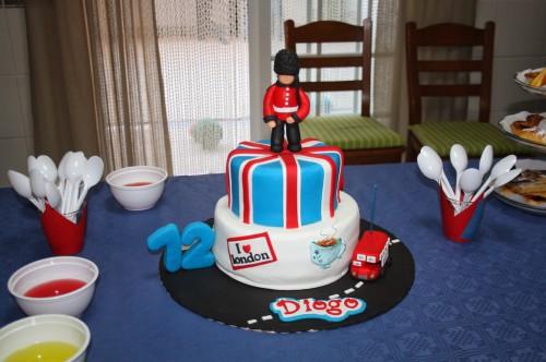 portfolio 6/11  - Festa de aniversário do D. - bolo