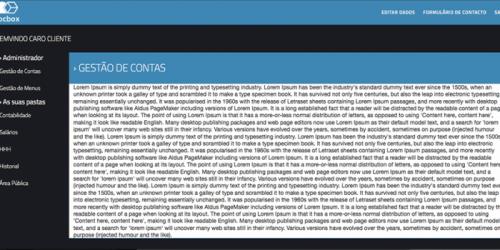 portfolio 2/21  - Interface iDocBox