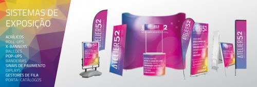 portfolio 1/21  - Temos diversas soluções em sistemas de exposição