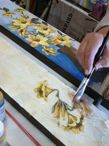 portfolio 6/15  - Aulas de pintura