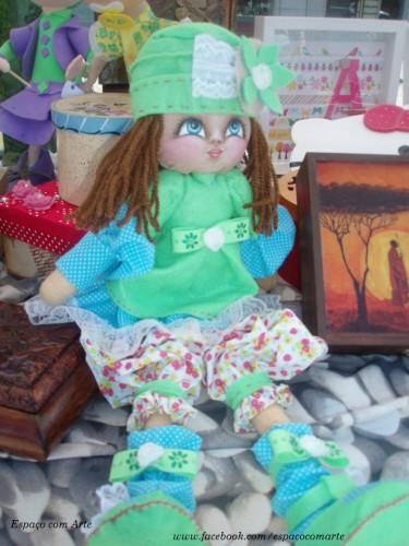 portfolio 3/15  - Execução de bonecas em tecido