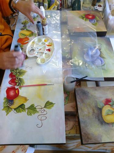 portfolio 9/15  - Cursos de Pintura e execução de telas
