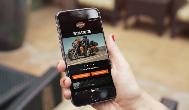 portfolio 6/9  - App Harley Davidson