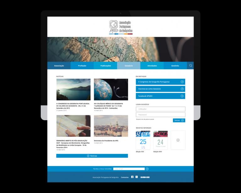 portfolio 7/9  - webdesign www.apgeo.pt