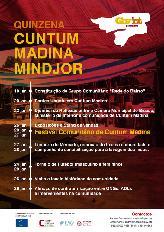 portfolio 6/12  - Cartaz Guiné Bissau