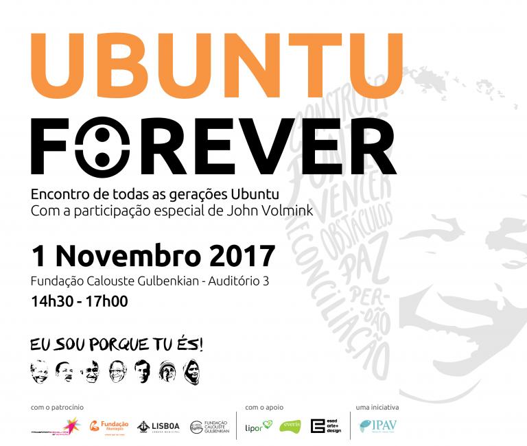 portfolio 5/12  - Convite digital UBUNTU Forever