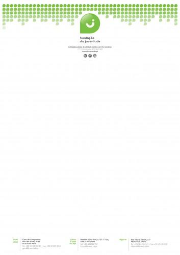 portfolio 9/12  - Papel Timbrado para Fundação