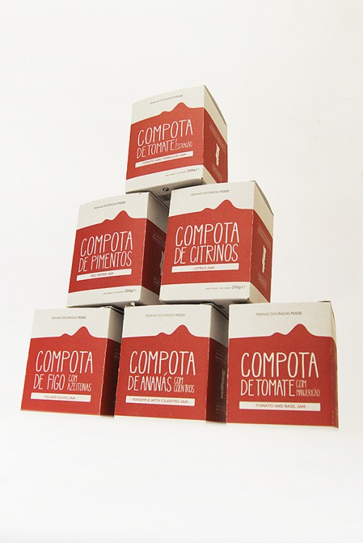 portfolio 13/14  - Packaging: gama Penhas Douradas Food