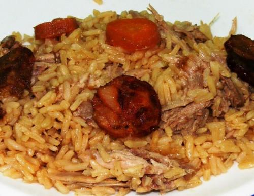 portfolio 3/5  - Arroz de pato.  O sabor tradicional num prato que agrada a todos.