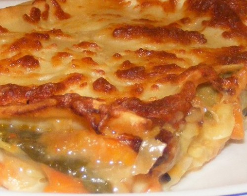 portfolio 2/5  - Lasanha de vegetais. Uma opção saudável mas com imenso sabor.