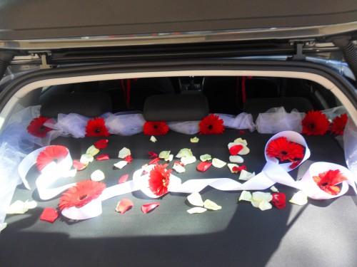 portfolio 13/18  - decoração do carro dos noivos