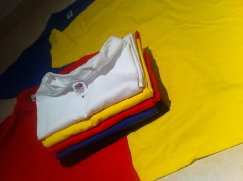 portfolio 1/7  - T-shirts, todo o tipo de têxtil, qualquer côr.