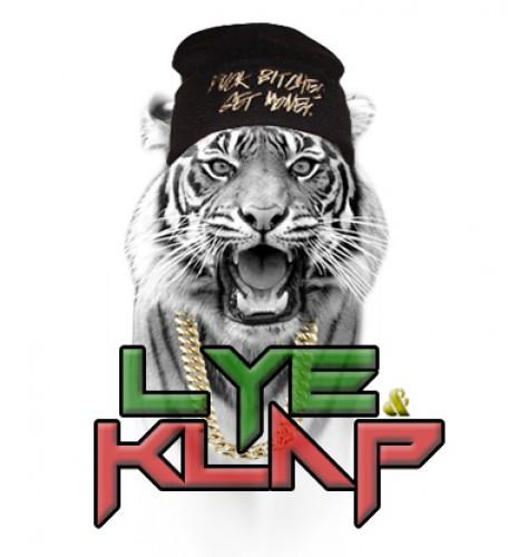 portfolio 6/14  - Logo da dupla musical de hip-hop/dancehall Lye&Klap