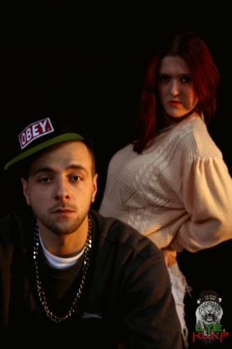 portfolio 4/14  - Fotografia de apresentação da dupla Lye&Klap
