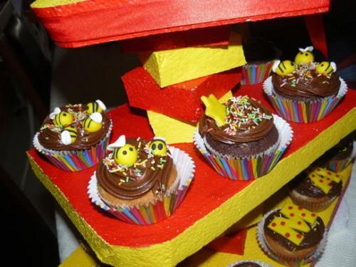 portfolio 158/161  - Cupcakes e suporte
