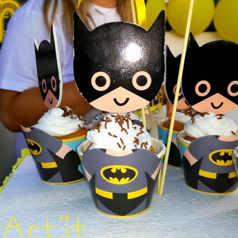 portfolio 62/161  - cupcakes tema batman