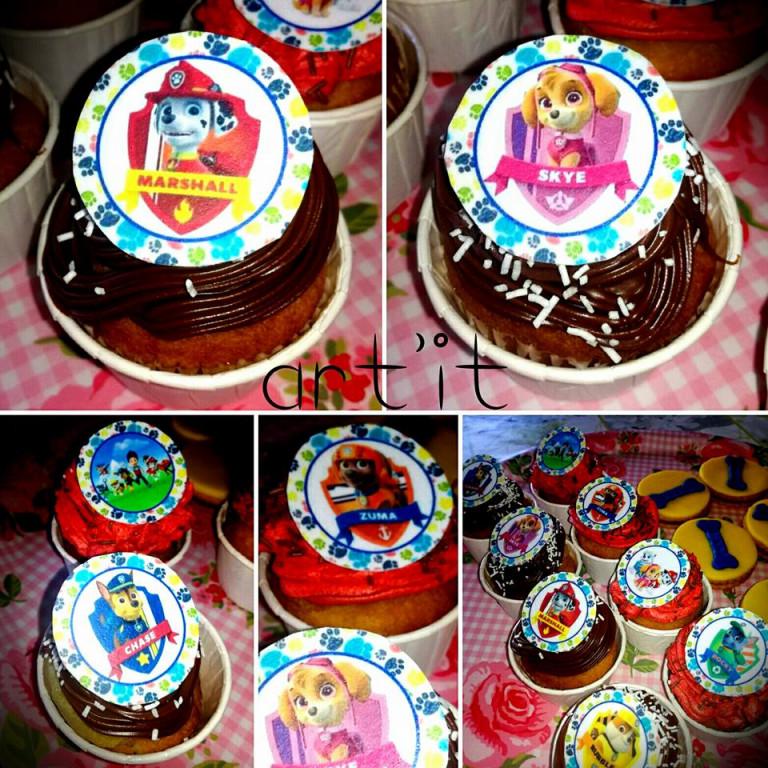 portfolio 59/161  - cupcakes patrulha pata