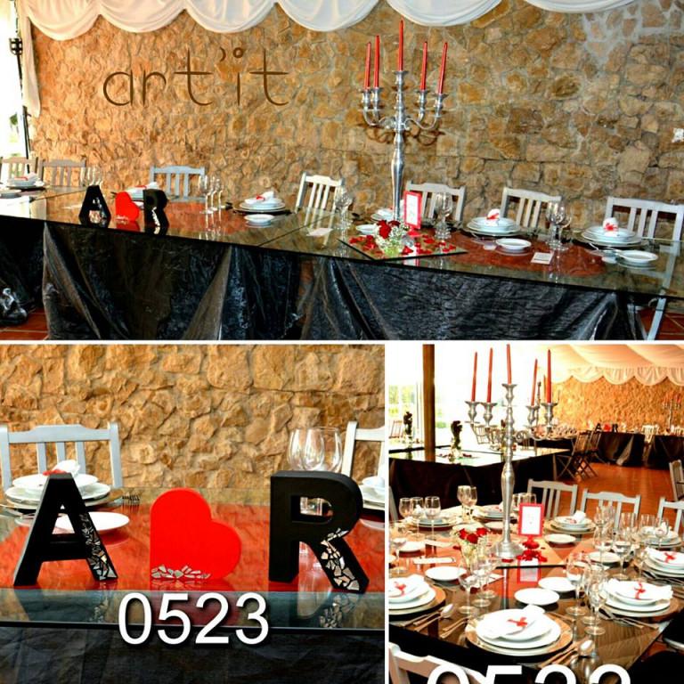 portfolio 58/161  - decoração de mesa