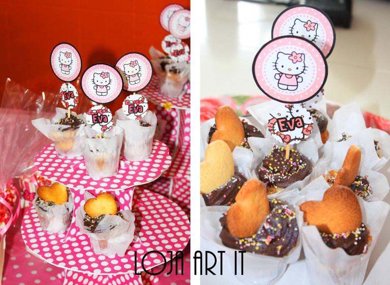 portfolio 8/161  - cupcakes tema hello kitty