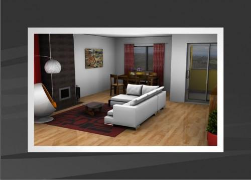 portfolio 40/53  - Projecto Decoração de Interiores 3D
