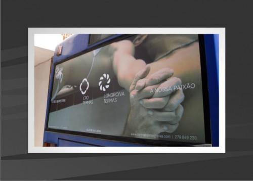 portfolio 18/53  - Campanha publicitária BUS - impressão e aplicação