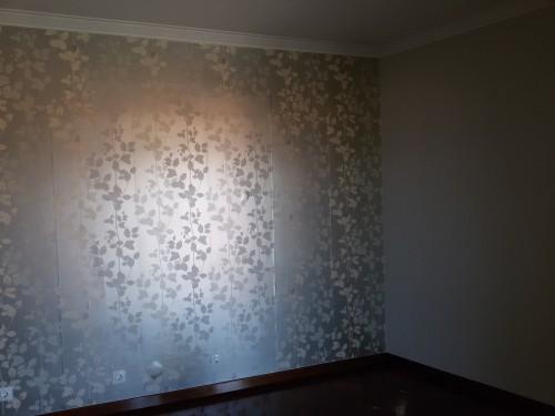 portfolio 9/236  - Colocação de papel de parede