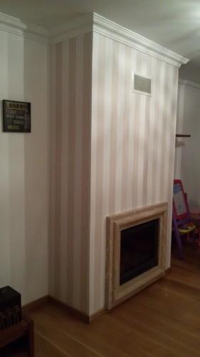 portfolio 62/236  - colocação de papel de parede