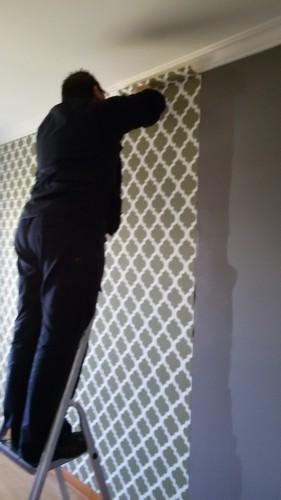 portfolio 53/236  - Colocação de papel de paredes