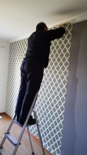 portfolio 47/236  - Colocação de papel de paredes