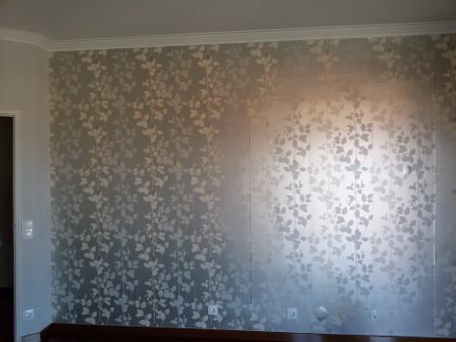 portfolio 6/236  - Colocação de papel de parede