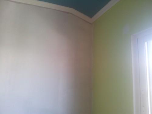 portfolio 155/236  - pintura de paredes ( parede antes de ser pintada )