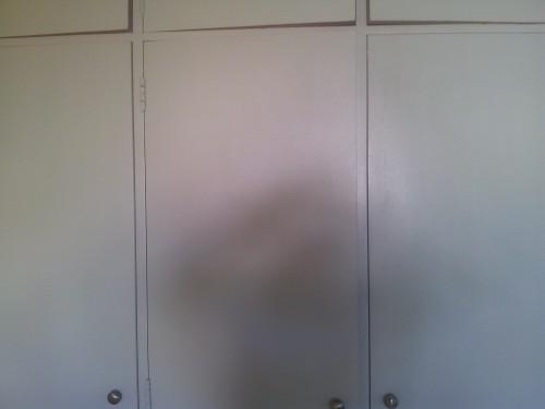portfolio 154/236  - pintura de armários ( armário antes de ser pintado )
