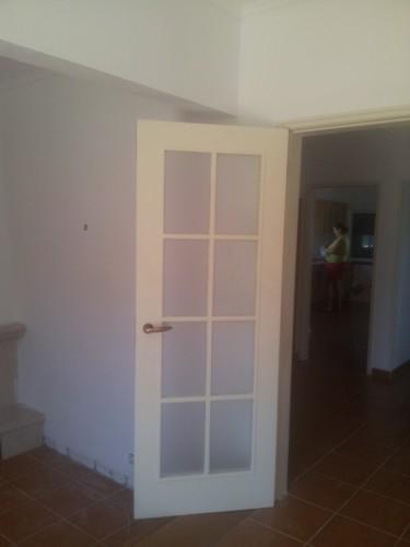 portfolio 148/236  - pintura de portas e ombreiras ( depois da pintura )