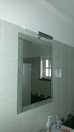 portfolio 132/236  - colocação de espelhos