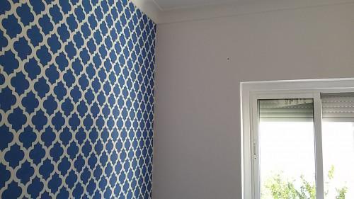 portfolio 73/236  - colocação de papel de parede