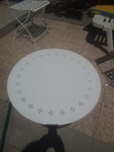 portfolio 168/236  - tampo da mesa depois de ser recuperado