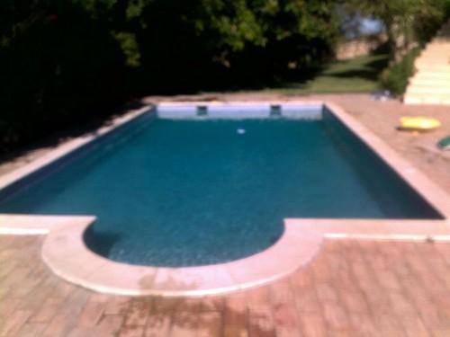 portfolio 4/38  - Recuperação de piscinas verdes sem estragar agua!!! #1 Dia