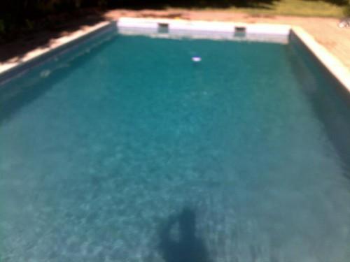 portfolio 3/38  - Recuperação de piscinas verdes sem estragar agua!!! #1 Dia