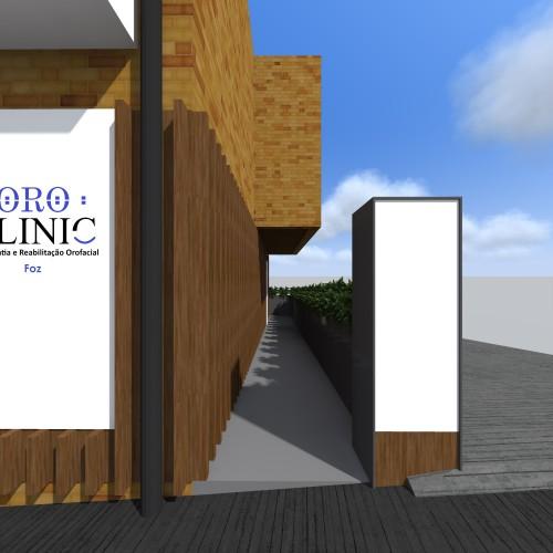 portfolio 9/16  - Clínica Dentária - Foz - Porto - Remodelação Exterior
