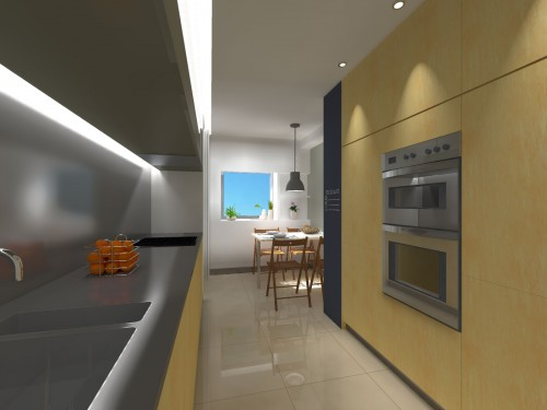 portfolio 8/16  - Remodelação Cozinha/ Lavandaria - Porto