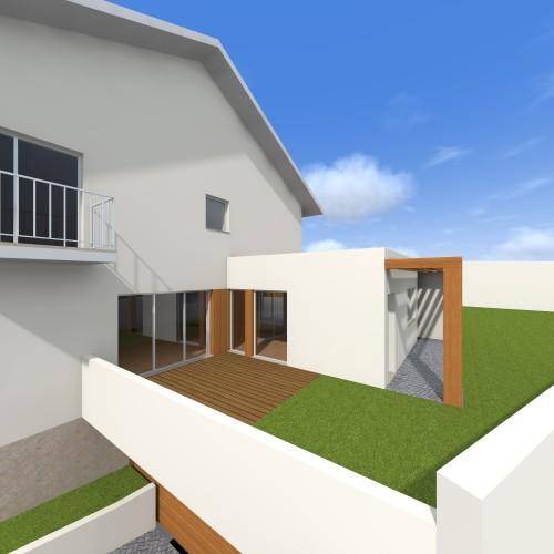 portfolio 3/16  - Remodelação/Ampliação Casa Ermida - Matosinhos - Porto