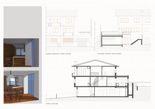 portfolio 13/16  - Casa Pedra Verde - Projeto Remodelação/Ampliação - Fase: Iniciação Obras