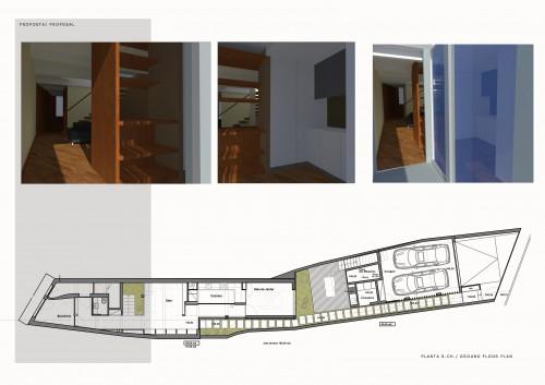 portfolio 12/16  - Casa Braga - Centro Histórico - Reabilitação Sustentável - Fase: Estudo Prévio