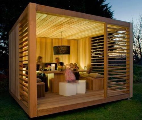 portfolio 14/16  - Resguardo Jardim, em madeira. » Local: Esmoriz
