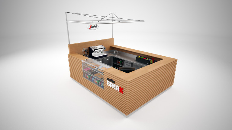 portfolio 27/51  - Modelização quiosque studio 3ds max