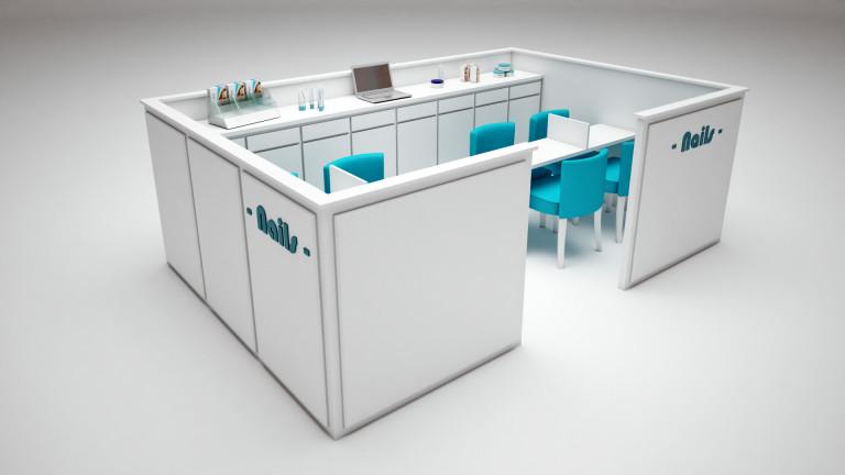 portfolio 33/51  - Modelização quiosque studio 3ds max