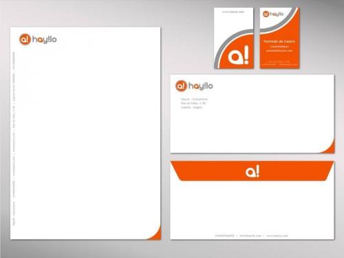 portfolio 10/41  - Estacionário / Branding