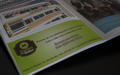 portfolio 3/24  - Magazine Humangext! Nesta edição o Gramas com Sabor está presente.