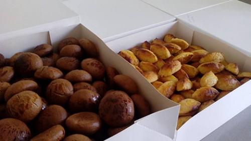 portfolio 7/24  - Broas de mel e canela ou de batata doce e amêndoa
