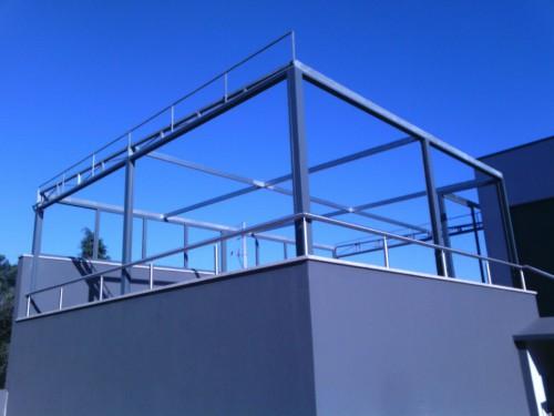portfolio 163/188  - terraço transformado em salão